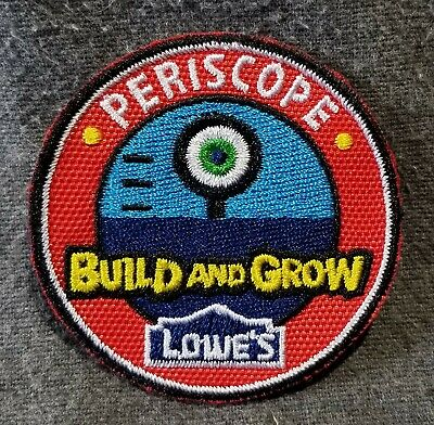 LMH PATCH Badge  2010 PERISCOPE  Build Grow LOWES Project Kids Clinic