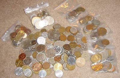 Lot Of 10 World Coins Unsearched Grab Bag Mixed Foreign