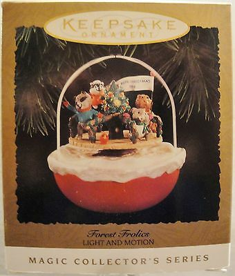 1994 Hallmark Magic Christmas Ornament Forest Frolics