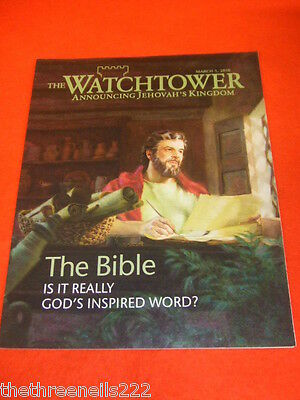 The Watchtower - The Bible - March 1 2010