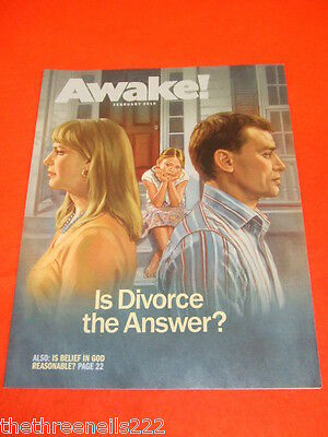 Awake! - Is Divorce The Answer - Feb 2010