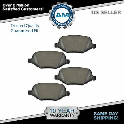 Nakamoto Rear Metallic Brake Pad Set for Explorer Edge Flex Taurus MKS MKT MKX