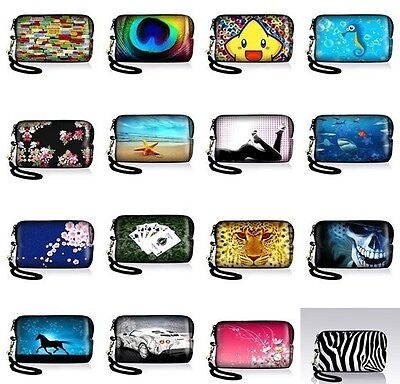 Soft Neoprene Case Bag Pouch For Digital Camera Cell Phone Ipod touch Iphone 5