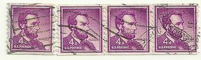 US Postage Stamps 4 Abraham Lincoln 4 cents