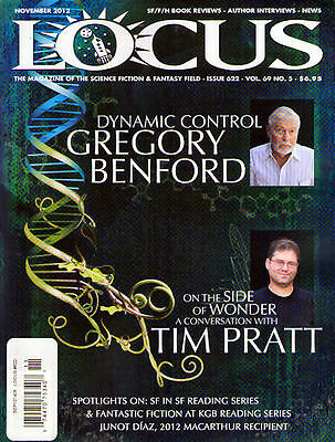 LOCUS #622 - December 2012 - NEW