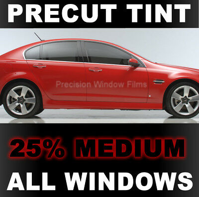 Jeep Wrangler 4 dr 07 08 09 2010 2011 2012 2013 PreCut Window Tint - Medium 25%