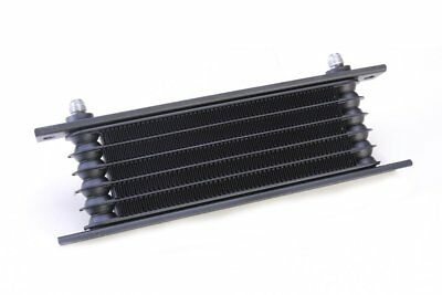"6 Rows Engine GearBox Transmission Oil Cooler AN -6 JIC 6 9/16""-18 UNF Black"