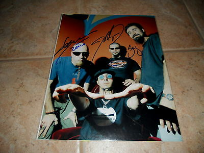System Of A Down Band Signed Autographed 11x14 Guitar Photo #2 X All 4 Serj