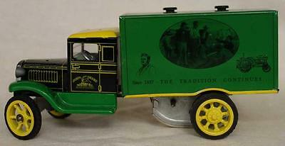 CONTEMPORARY RETRO METAL WIND-UP TOY - TRUCK, EUROPE