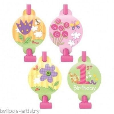 8 Happy 1st Special Girl Birthday Gift Loot Party Blowouts