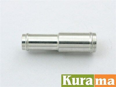 6mm to 8mm Aluminum Alloy Hose Joiner Reducer Adapter Connector Silicone Vacuum