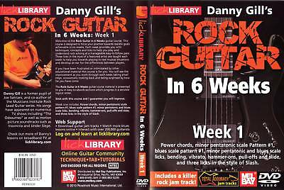 Lick Library Rock Guitar In 6 Weeks - Week 1 - NEW DVD