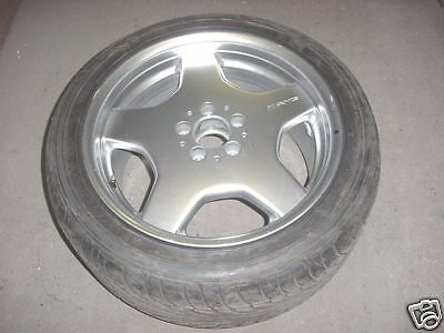 """Mercedes AMG 18"""" Used Wheel and Tire"""
