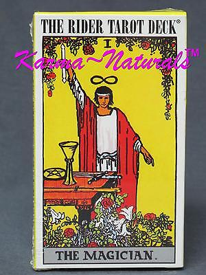 RIDER WAITE TAROT Authorized CARD DECK by Arthur Edward Waite - New