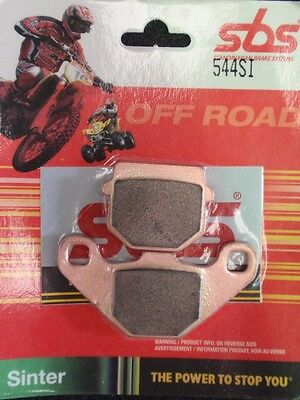 Derbi senda DRD 50 SM motard 2011 off road sintered SBS rear brake pads SBS544