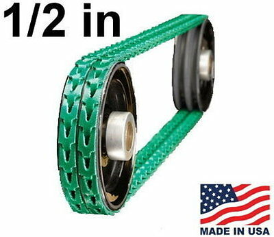 """Adj Link V-Belt 1/2"""" x 4' Replacements Lathe, Drill Press, Table Saw, Band Saw W"""