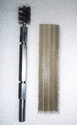 """ASP  Copper Prep  Tools - Power Brush and Cardcloth 1/2"""""""