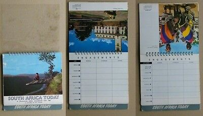 Calendario 1966   South Africa Today - Sud Africa   Bellissimo     - Sp1