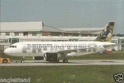 Airline Postcard - Frontier - A319 111 - D-AVYM - N902FR (P2666)