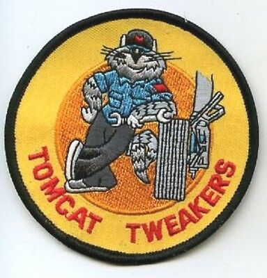 Usn F-14 Tomcat Fighter Maintenance Deck/hanger Support Crew Ssi Tomcat Tweaker