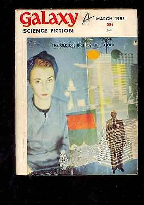 (PULP) GALAXY SCIENCE FICTION vol. 5 n° 6, 3.1953 édition originale USA