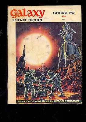 (PULP) GALAXY SCIENCE FICTION vol. 6 n° 6, 9.1953 édition originale USA