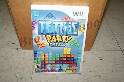 Tetris Party Deluxe Wii NEW