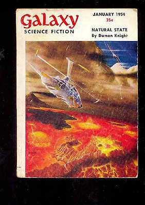 (PULP) GALAXY SCIENCE FICTION vol. 7 n° 5, 01.1954 édition originale USA