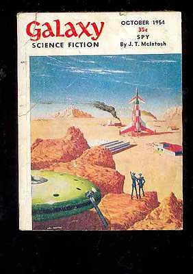(PULP) GALAXY SCIENCE FICTION vol. 9 n° 1, 10.1954 édition originale USA