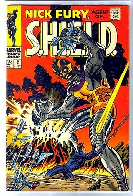 NICK FURY #2 Agent of S.H.I.E.L.D.! Marvel Comic Book ~ VG