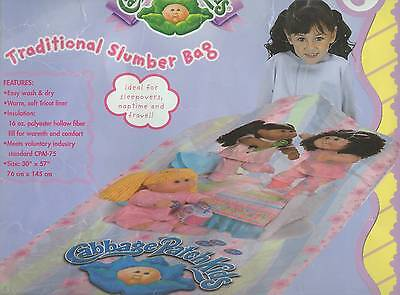 Slumber Bag CABBAGE PATCH KIDS Sleeping Bag CABBAGE PATCH DOLL New