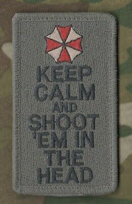 Daesh Whacker Green Berets Seal Sp Ops Keep Calm Insignia: Shoot 'em In The Head