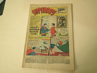 Adventure Comics #275 Aug. 1960-Superboy,aquaman ,congorilla