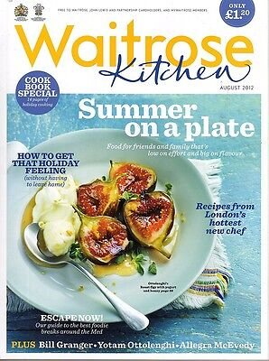 Waitrose Kitchen Magazine - August 2012