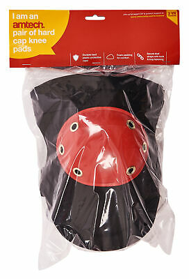 New Superior Hard Cap Knee Pads Double Strap Tiler Builder Carpenter Protection