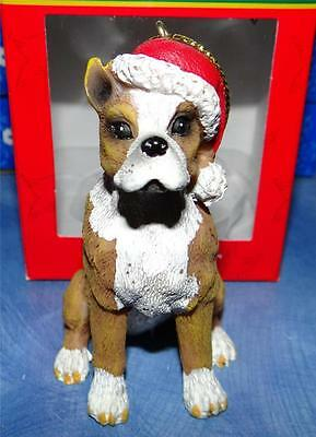 Pit Bull DOG PUPPY Collectible Christmas PICTURE Figurine Kurt S. Adler ORNAMENT