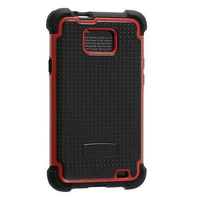AGF Ballistic SG Case for Samsung Galaxy S II S2 SGH-i777 Red Black Cover New