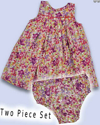 BABY BODEN girls dress with pants set Floral Spot design NEW RRP £25.00