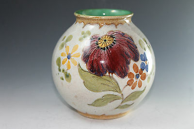 "Gouda 3196 Bertino Holland Pottery 5"" Vase"