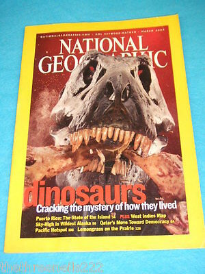 National Geographic - Dinosaurs - March 2003