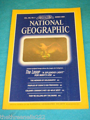 National Geographic - Holography - March 1984