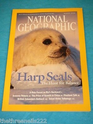 National Geographic - Harp Seals - March 2004