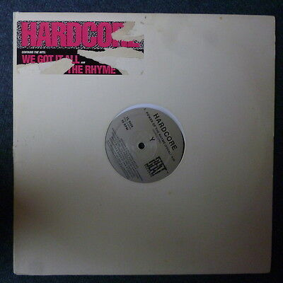 "Hardcore We Got It All 12"" NuBeat Records 1987"