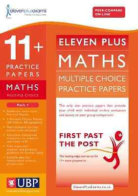 11+ Maths Multiple Choice Practice Papers: Pack 1 (Firs - ElevenPlusExams NEW Ha
