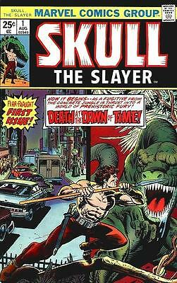 Skull The Slayer #1-8 Set/Marv Wolfman/Steve Gan/1975 Marvel Comics