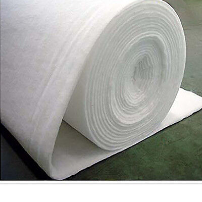 1m Premium POLYESTER WADDING - Fire Retardant Upholstery Quilting - 60 Inch Wide
