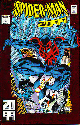 Spider-Man 2099 #1 Foil Cover superior spider-man tie in? amazing spiderman