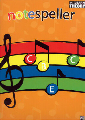 EasiLEARN Notespeller - Gillian Erskine and Paul Myatt Book *NEW* Music, Theory