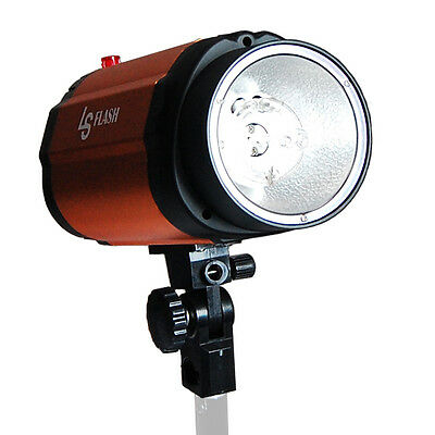 Lusana Studio Photography Orange Strobe Flash Lighting 250W Lamp Head