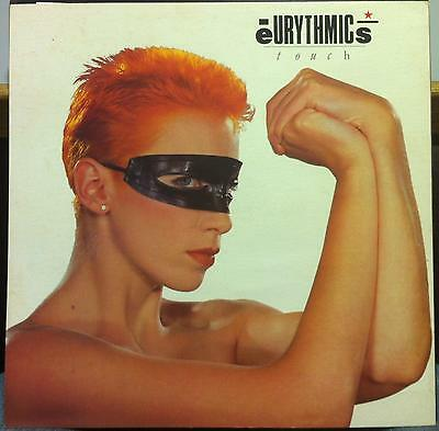 "EURYTHMICS touch 12"" Promo Poster 1984 RCA 4917"